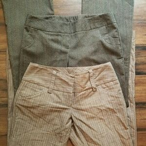 Iz Byer Pants - **3 for $14** Set of 2 Dress Pants